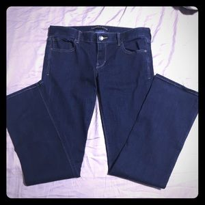 Amazing dark blue jeans